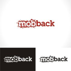 Create the next logo for mobback by leftflank