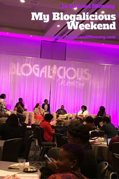 Recap by La La Land Mommy: My Blogalicious Weekend