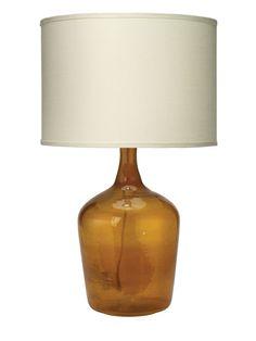 "Jamie Young Company Medium Plum Jar 27.25"" H Table Lamp with Drum Shade | AllModern"