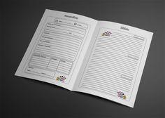 Miolo de Agenda Diário do Bebê, agora em folios para encadernação artesanal. Para imprimir, arquivo para download no formato pdf.