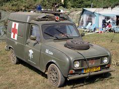 Ambulancia Renault F4