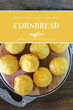 These keto cornbread muffins are just as good as the real thing, but grain free! At only per serving, your soup and chili won't be lonely this winter! Starting a keto diet and looking for great… Ketogenic Recipes, Low Carb Recipes, Keto Foods, Flour Recipes, Vegetarian Ketogenic Diet, Veggie Keto, Atkins Recipes, Lchf Diet, Pie Recipes
