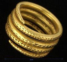 Post Roman ring found in Worleston Cheshire.
