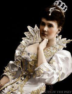Grand Duchess Maria Pavlovna Romanova of Russia | photo hand painting MariaVelkoknezna