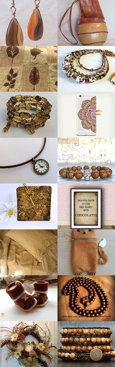 2221 - Trendy Brown Things by Shelley on Etsy--Pinned with TreasuryPin.com