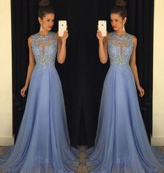 New Arrival Appliqued Prom Dresses,Beaded Prom Dresses,Chiffon Homecoming Dress,Prom Gown,Evening Dress