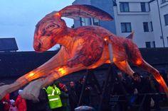Galway Macnas Parade 2013 Samhain, Lion Sculpture, Statue, Songs, Men, Craft Markets, Guys, Song Books, Sculptures