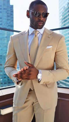 Black Suit Beige. Black Suit Beige. on Stylevore