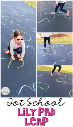 Get moving with this lily pad leap game. Perfect for spring in tot school, preschool, or the kindergarten classroom. health activities health care health ideas health tips healthy meals Frog Activities, Gross Motor Activities, Preschool Curriculum, Gross Motor Skills, Spring Activities, Kindergarten Classroom, Toddler Activities, Preschool Activities, Health Activities