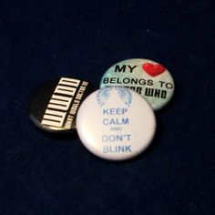 Doctor Who Pinback Button