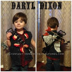 Daryl Dixon Toddler Halloween Costume