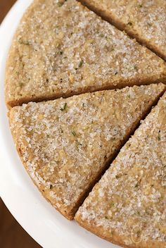 New York Times Rosemary Shortbread - this unbelievably easy, crisp-tender, buttery, absolutely irresistible shortbread is one of those recipes you'll find yourself making again and again.
