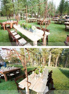 wedding table settings, centerpieces wedding, vintage wedding, rustic wedding, western wedding