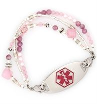 Gabrielle Medical ID Bracelet | Lauren's Hope