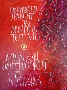kalligrafie Bernadette D'haese