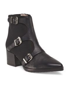 Made In Italy Frani Buckle Bootie