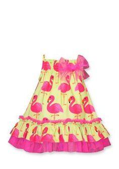 e1930cf7a3 Turquoise Flamingo Skirt and Head wrap Set- palm tree and flamingo head  wrap set