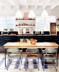 Стильный дом - 19 идей для хипстерской кухни
