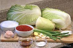 Kimchi Recipe, Spicy Pickled Napa Cabbage