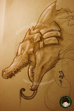 Chillout :: Little Sketch - Renekton :: League of Legends ~ THIS PERSON IS ABSOLUTELY FANTASTIC