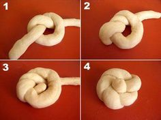 Résultat d'images pour lussekatter shapes Savory Pastry, Savoury Baking, Pan Comido, Thermomix Bread, Bread Shaping, Decoration Patisserie, Pastry Design, Bread Art, Braided Bread