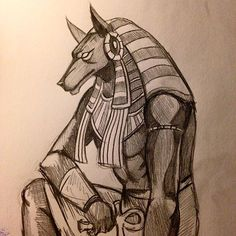 "Képtalálat a következőre: ""anubis"" Egyptian Drawings, Egyptian Art, Anubis Drawing, Egypt Civilization, Egyptian Tattoo Sleeve, Egyptian Mythology, Greek Mythology, Anubis Tattoo, Ancient Artifacts"