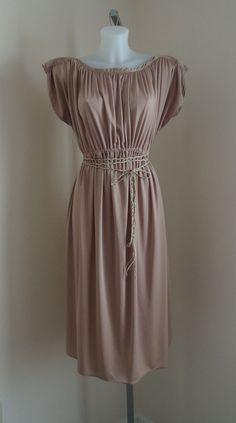 Vintage 1970s Antique Pink Dress on Etsy, $69.23 CAD