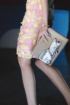 Prada Spring 2012. I love this collection, it's so fun and retro, especially for Prada