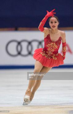 ニュース写真 : Alina Zagitova of Russia competes in the Ladies...