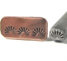 Native American 20 - design treated steel stamp. Each stamp is a wonderful design that will enhance anything you add them too. Earrings, Bracelets,