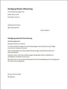 Den Arbeitsvertrag kündigen Vorlage und Muster für