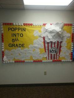 Welcome back to school bulletin board.