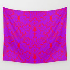 Grandmother's curtain Wall Tapestry by azima Wall Tapestries, Tapestry, Face Design, Vivid Colors, Hand Sewing, Duvet Covers, Curtains, Throw Pillows, Art Prints