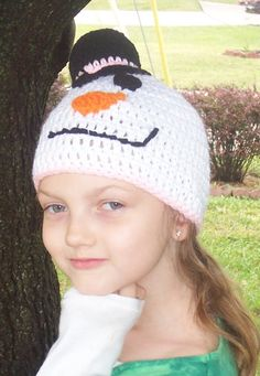 Hey, I found this really awesome Etsy listing at https://www.etsy.com/listing/163824616/childs-snowman-hat