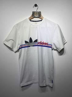 Adidas T-Shirt size Small £18 Website➡️ www.retroreflex.uk #adidas #trefoil #vintage #oldschool #truevintage