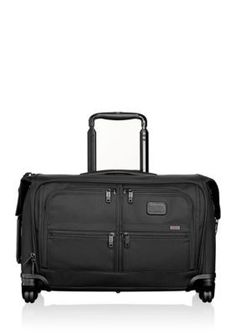 Tumi Black Alpha 2 Carry-On 4 Wheeled Garment Bag