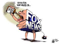 Faux News dumps Aile