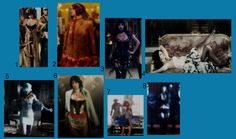 Amber Sweet's costumes from Repo! The Genetic Opera