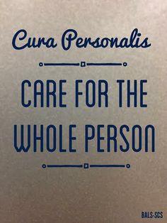 Cura Personalis....