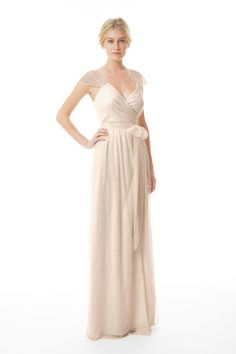 Shop Joanna August Bridesmaid Dress - Newbury Dress Long (Lace) in Lace at Weddington Way. Find the perfect made-to-order bridesmaid dresses for your bridal party in your favorite color, style and fabric at Weddington Way.