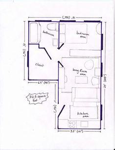 Post Image One Room Apartment, Studio Apartment Layout, Small Studio Apartments, Apartment Hacks, Small Apartment Living, Studio Apt, Studio Apartment Decorating, Apartment Interior Design, Apartment Therapy