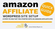 Amazon Affiliate WordPress Site - Quick Guide