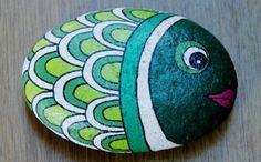 fisch malideen steine bemalen mit kindern