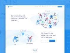Our shiny and new homepage launched this week after a ton of work put in by members from our brand design and marketing teams. Big ups to our Dribbble-less illustrator at Intercom, Quentin Vijoux. ...