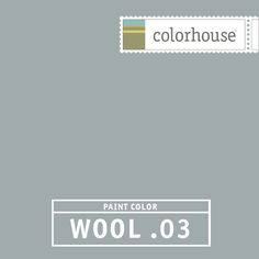 Colorhouse WOOL .03 - The feel of faded denim. Dress this color up in a dining room with a reclaimed black walnut table and crisp linen textiles.