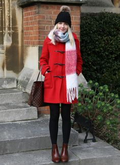 The Classic British Duffle Coat - Rebecca Coco Uk Fashion, Fashion Beauty, Prep Style, My Style, Dressing Over 50, Duffle Coat, Autumn Winter Fashion, Preppy, Outfit Ideas