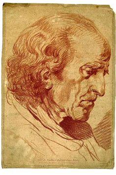 J.-B. Greuze.Tête de Vieillard. Musée Greuze, Tournus.