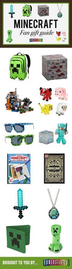 "17 Gifts Ideas for ""Minecraft"" Fans   via: http://fantastigift.com/gaming/best-minecraft-gifts/"