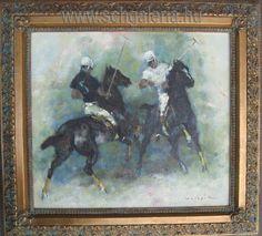 Holesch Dénes -  kortárs festmények