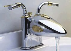Motorcycle faucet